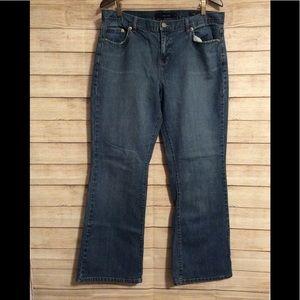 Calvin Klein Lightwash Flare Blue Jeans